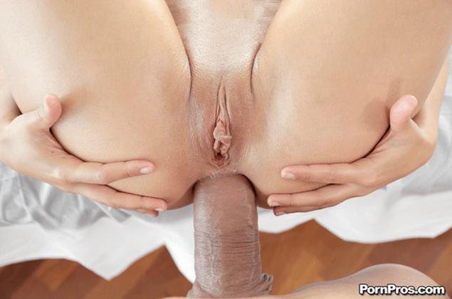 POV Pornofoto mit geilem Arschfick in Nahaufnahme